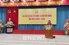 Phó Chủ tịch nước dự Đại hội Thi đua yêu nước ngành Xây dựng