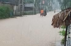Không khí lạnh gây mưa to tại Trung Bộ, đề phòng lũ quét, sạt lở đất