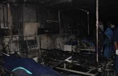 Hỏa hoạn tại một bệnh viện, 5 bệnh nhân COVID-19 thiệt mạng