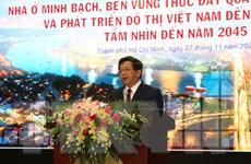 Phát triển thị trường bất động sản Việt Nam bền vững và minh bạch
