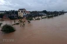 Mực nước trên các sông từ Quảng Bình đến Ninh Thuận đang lên