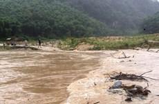 Điện Biên: Tìm thấy thi thể cán bộ giám sát giao thông bị nước cuốn