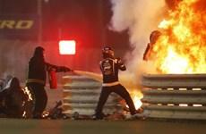 Video cận cảnh tai nạn kinh hoàng ở đường đua F1 Bahrain Grand Prix