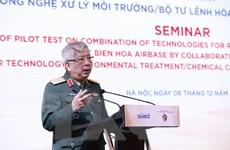 Thử nghiệm công nghệ rửa đất để xử lý dioxin tại sân bay Biên Hòa