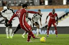 Premier League: Liverpool lỡ cơ hội chiếm ngôi đầu của Tottenham