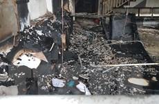 Bình Phước: Cháy ở Trung tâm Anh ngữ quốc tế, thiêu rụi nhiều tài sản