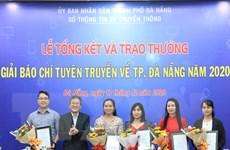 TTXVN giành giải Nhất Giải báo chí tuyên truyền về thành phố Đà Nẵng
