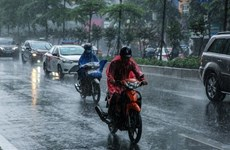 Áp thấp nhiệt đới di chuyển theo hướng Tây, nhiều tỉnh mưa rất to
