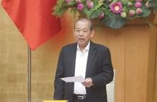 Thành lập Ban chỉ đạo tổng kết Chiến lược phòng chống tham nhũng