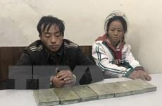 Sơn La: Bắt giữ hai đối tượng vận chuyển 7 bánh heroin