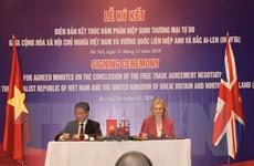 UKVFTA có ý nghĩa to lớn và thiết thực với cả Việt Nam và Anh
