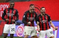 Thắng kịch tính Lazio, AC Milan kết thúc năm 2020 ở ngôi đầu Serie A