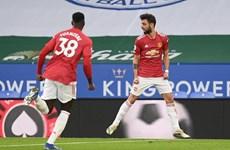 Hòa Leicester City, M.U lỡ cơ hội leo lên tốp 2 Premier League