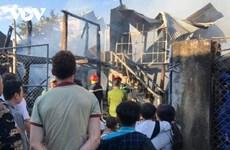 Điện Biên: Một căn nhà sàn bị lửa thiêu rụi hoàn toàn do chập điện