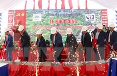 Khởi công dự án kết nối tỉnh lộ 152 với đường cao tốc Nội Bài-Lào Cai