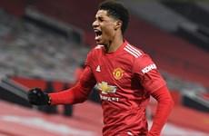 Rashford đưa Manchester United lên tốp 2 Premier League