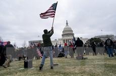 Bộ Tư pháp Mỹ buộc tội 15 đối tượng tấn công Đồi Capitol