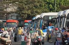 Đảm bảo phương tiện cho hành khách về quê đón Tết Nguyên đán