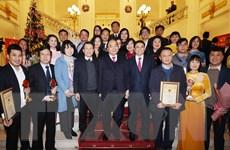 [Photo] Thông tấn xã Việt Nam đoạt Giải A Giải Búa liềm vàng lần thứ V