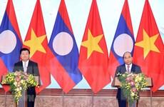 Quan hệ Việt-Lào càng trở nên đặc biệt trong đại dịch COVID-19