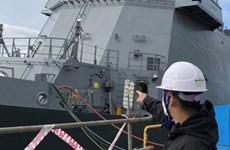 Hàn Quốc sắp giao khinh hạm trang bị tên lửa thứ hai cho Philippines