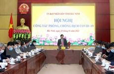 Bắc Ninh kích hoạt khẩn cấp các biện pháp phòng, chống dịch COVID-19