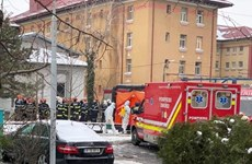 Hỏa hoạn tại bệnh viện điều trị COVID-19, ít nhất 4 người thiệt mạng