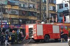 Hải Phòng: Giải cứu một cháu bé khỏi đám cháy khi ở nhà một mình