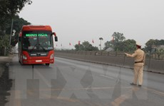 Bảo đảm trật tự, an toàn giao thông ngày cuối đợt nghỉ Tết Tân Sửu