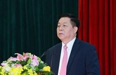 Ông Nguyễn Trọng Nghĩa giữ chức Trưởng ban Tuyên giáo Trung ương