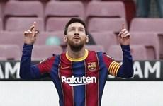 Lionel Messi lại lập thêm nhiều cột mốc mới trong sự nghiệp
