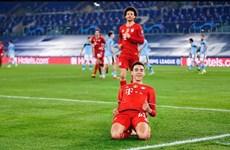 Cận cảnh Bayern đặt 1 chân vào tứ kết sau màn vùi dập Lazio