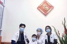 Bệnh nhân ghép tim nhỏ tuổi nhất Việt Nam đã được ra viện