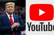 YouTube nêu điều kiện khôi phục tài khoản của cựu Tổng thống Trump