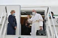 Giáo hoàng Francis bắt đầu chuyến công du kéo dài 4 ngày tới Iraq