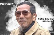 NSND Trần Hạnh - Người trai phố cổ gắn với vai nông dân khổ hạnh