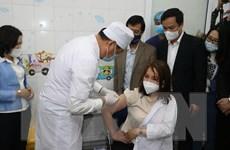 Ngày đầu tiên tiêm vaccine phòng COVID-19 tại Hải Dương