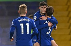Kai Havertz tỏa sáng, Chelsea đứng vững ở tốp 4 Premier League