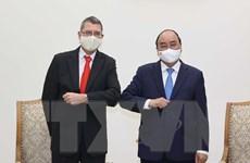 Thủ tướng Chính phủ Nguyễn Xuân Phúc tiếp Đại sứ Cộng hòa Áo