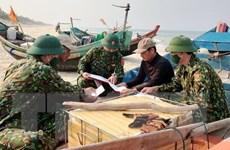 Quảng Bình: Tàu cá bị chìm sau khi va chạm mạnh với tàu hàng trên biển