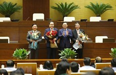 Bầu 3 Phó Chủ tịch Quốc hội và trình Quốc hội miễn nhiệm Thủ tướng
