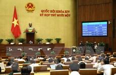 Thông cáo báo chí số 7 Kỳ họp thứ 11, Quốc hội khóa XIV