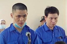 Tuyên án tử hình 2 bị cáo vận chuyển gần 40kg ma túy qua biên giới
