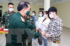 Nam Định đưa 144 công dân hoàn thành cách ly tập trung về nơi cư trú