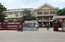 Cách chức Phó Giám đốc Bệnh viện đa khoa tỉnh Bình Thuận