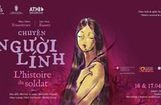 Công diễn vở nhạc kịch nổi tiếng 'Chuyện người lính' tại Hà Nội