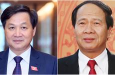 Trình Quốc hội phê chuẩn việc bổ nhiệm 2 Phó Thủ tướng và 12 bộ trưởng