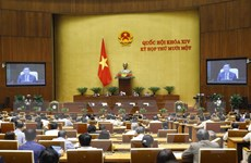 Thông cáo báo chí số 11, Kỳ họp thứ 11, Quốc hội khóa XIV