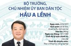 [Infographics] Bộ trưởng, Chủ nhiệm Ủy ban Dân tộc Hầu A Lềnh