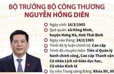 [Infographics] Tiểu sử Bộ trưởng Bộ Công Thương Nguyễn Hồng Diên